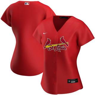 Women's St. Louis Cardinals Alternate 2020 Baseball Team Jersey Red