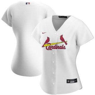 Women's St. Louis Cardinals Home 2020 Baseball Jersey White