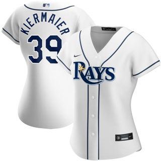 Women's Tampa Bay Rays #39 Kevin Kiermaier Home 2020 Baseball Player Jersey White