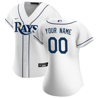 Women's Tampa Bay Rays 2020 Home Replica Custom Jersey - White