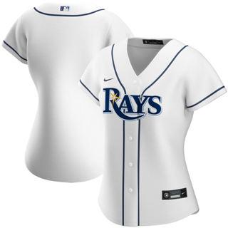 Women's Tampa Bay Rays Home 2020 Baseball Team Jersey White
