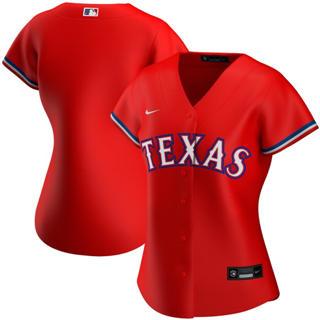 Women's Texas Rangers Alternate 2020 Baseball Team Jersey Red