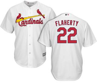 Youth Cardinals #22 Jack Flaherty White New Stitched Baseball Jersey