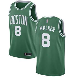 Youth Celtics #8 Kemba Walker Green Basketball Swingman Icon Edition Jersey
