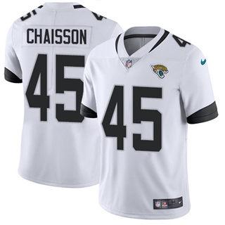 Youth Jaguars #45 K'Lavon Chaisson White Stitched Football Vapor Untouchable Limited Jersey