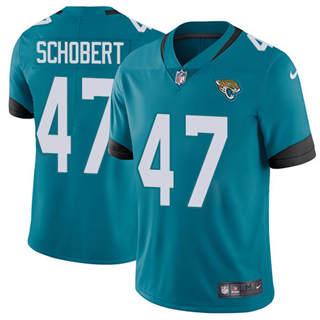 Youth Jaguars #47 Joe Schobert Teal Green Alternate Stitched Football Vapor Untouchable Limited Jersey