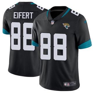 Youth Jaguars #88 Tyler Eifert Black Team Color Stitched Football Vapor Untouchable Limited Jersey