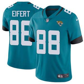 Youth Jaguars #88 Tyler Eifert Teal Green Alternate Stitched Football Vapor Untouchable Limited Jersey
