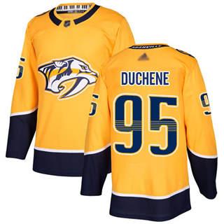Youth Predators #95 Matt Duchene Yellow Home  Stitched Hockey Jersey