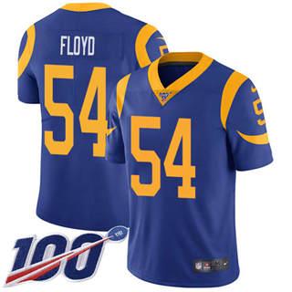 Youth Rams #54 Leonard Floyd Royal Blue Alternate Stitched Football 100th Season Vapor Untouchable Limited Jersey
